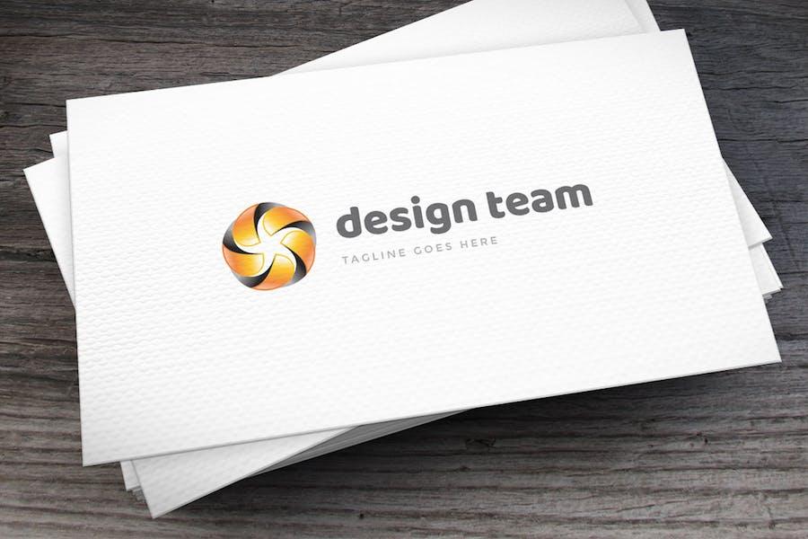 Design Team Logo Template