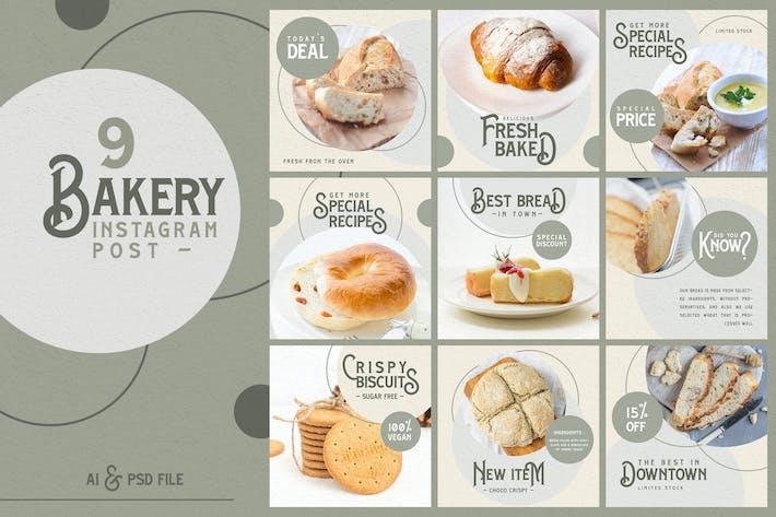 Thumbnail for Bakery instagram Post Templates
