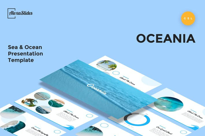 Thumbnail for Oceania - Sea & Ocean Google Slides Template
