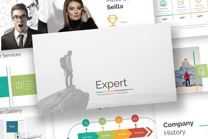Thumbnail for Expert - Keynote Template