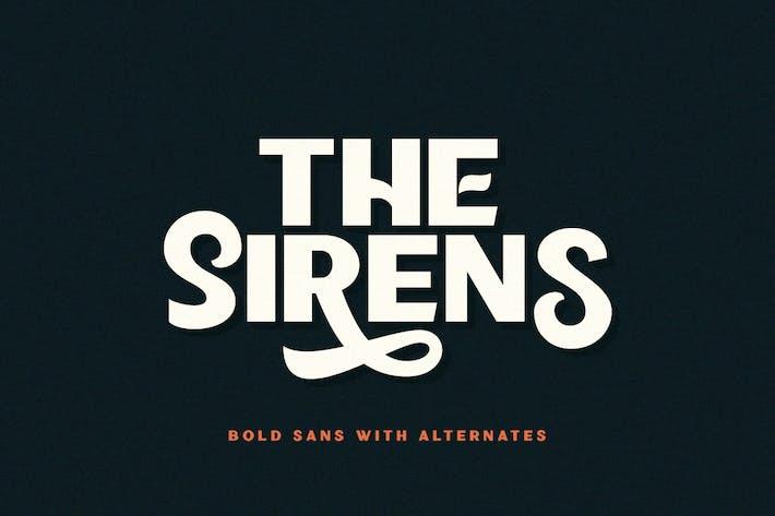 Thumbnail for Sirènes - Bold Sans