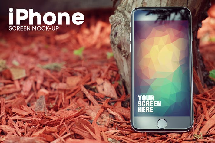 Thumbnail for iPhone 6 Screen Mockup