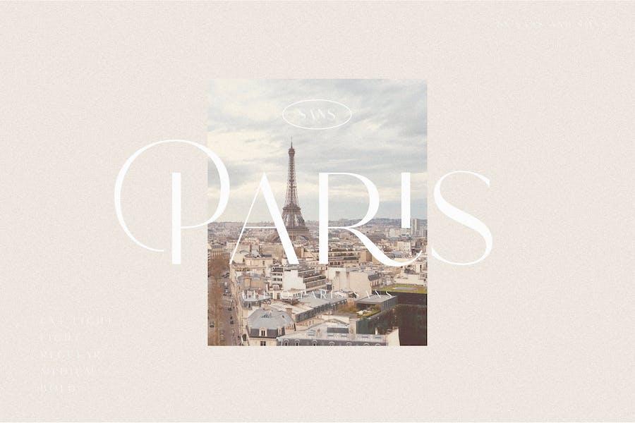 Hello Paris Sans