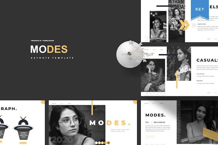 Modes | Keynote Template