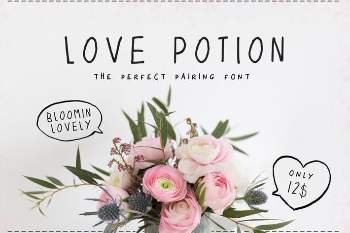 Thumbnail for Love Potion Font