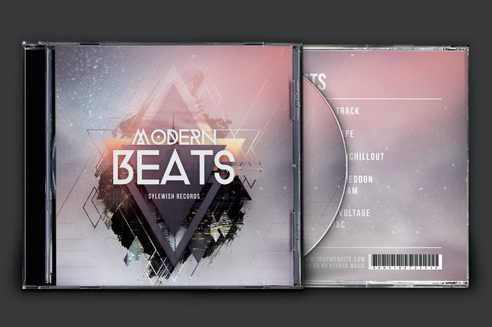 Thumbnail for Modern Beats CD Cover Artwork