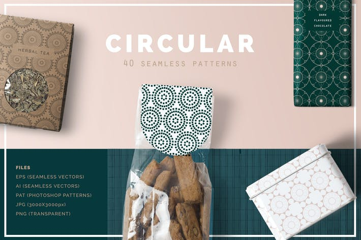 Thumbnail for Circular Patterns Set