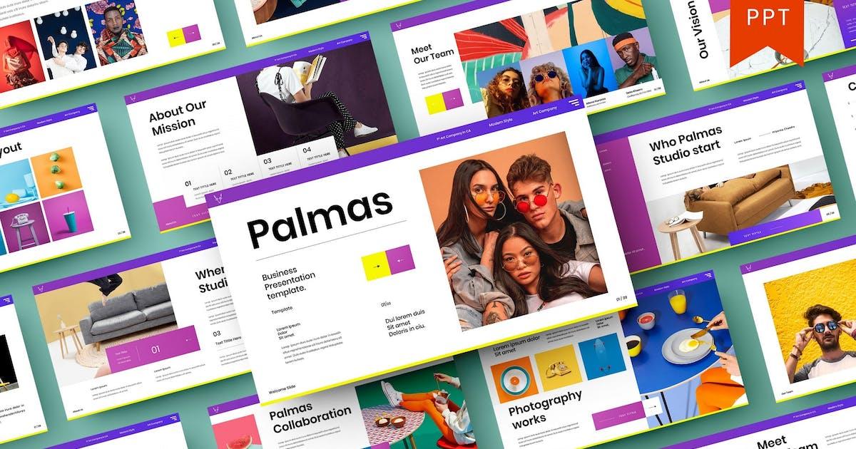 Palmas – Business PowerPoint Template by DensCreativeStudio
