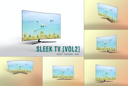 Sleek TV Mockup [VOL2]