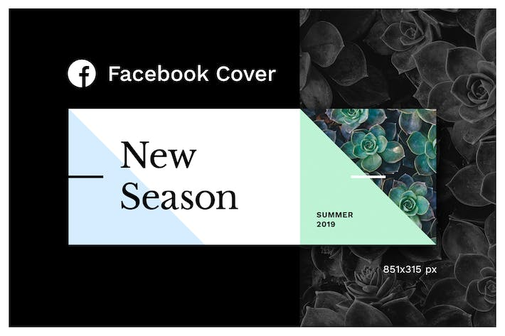 Thumbnail for Facebook Cover (Vol.4)