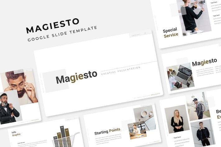 Magiesto - Google Slide Template