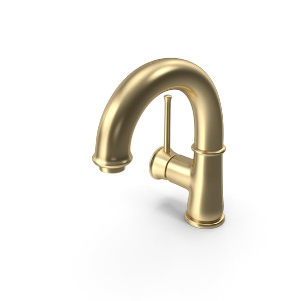 Gold Basin Mixer