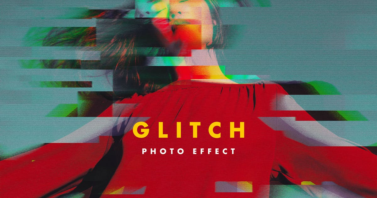 Download RGB Glitch Photo Effect by pixelbuddha_graphic