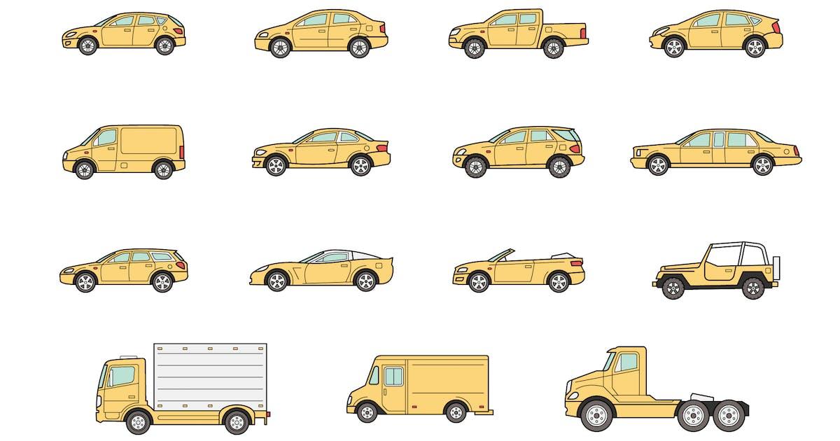 15 Car bodies icons by polshindanil