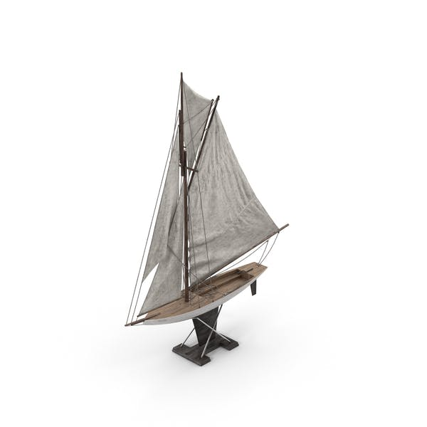 Thumbnail for Model Sailboat