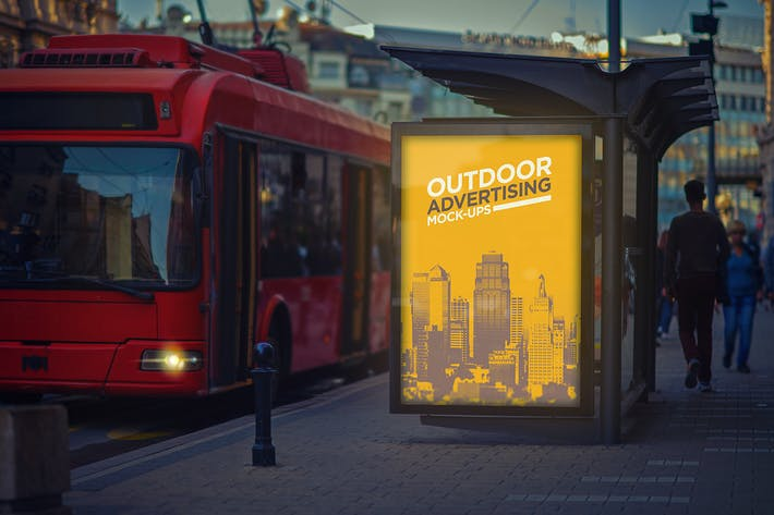 Thumbnail for Outdoor Advertising Mock-Up Vol.1