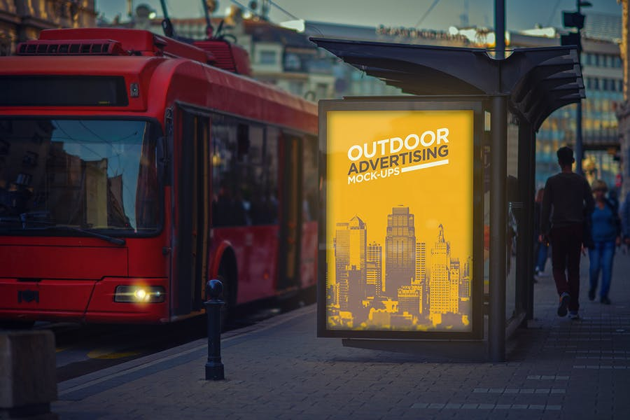 Outdoor Advertising Mock-Up Vol.1