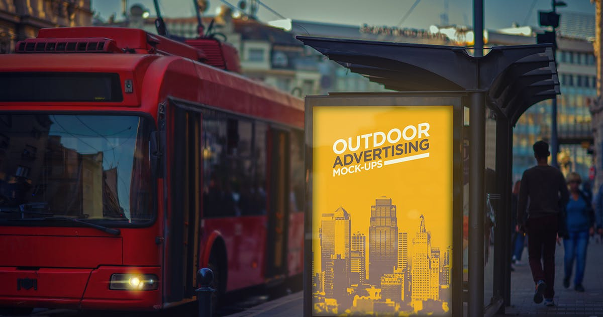 Download Outdoor Advertising Mock-Up Vol.1 by punedesign