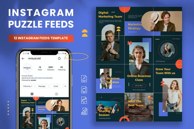Instagram Puzzle - Digital Marketing