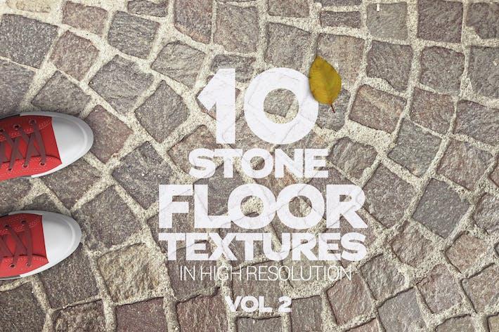 Cover Image For Textures de sol en pierre x10 Vol 2
