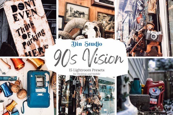 Thumbnail for 90s Vision Lightroom Presets