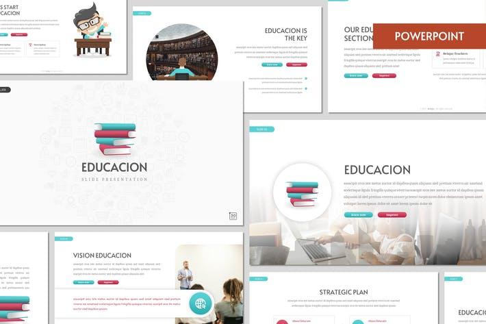 Thumbnail for Educacion - Education Powerpoint Template