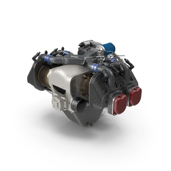 Thumbnail for Piston Aircraft Engine