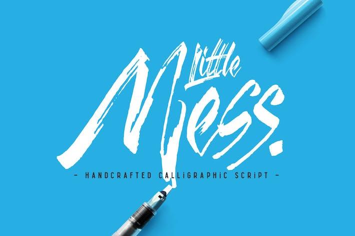 Thumbnail for Little Mess font
