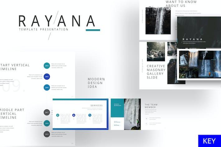 Rayana - Gallery Keynote Template