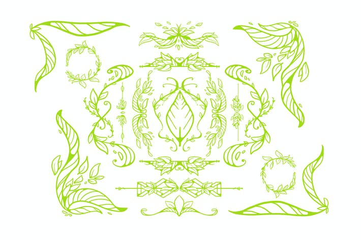 Thumbnail for Leaf Ornaments