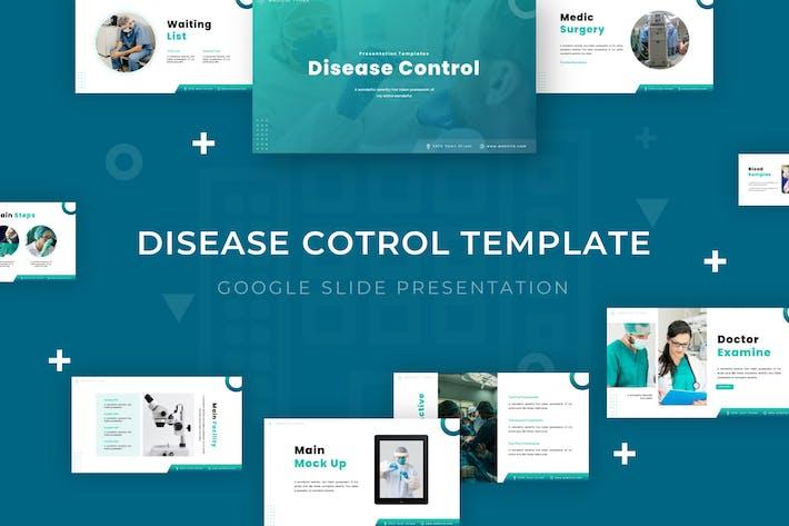 Контроль заболеваний - Шаблон слайдов Google