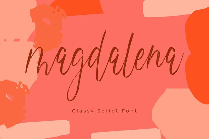 Thumbnail for Magdalena Script