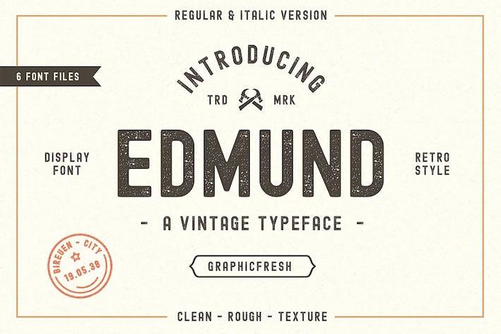 Thumbnail for El Edmund - 6 Ficheros tipográficos