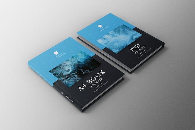 Book A4 Mockup