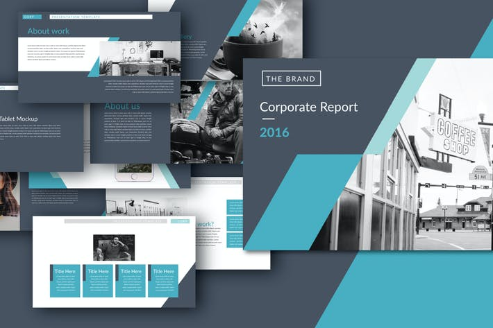 Thumbnail for Corporate Design Keynote