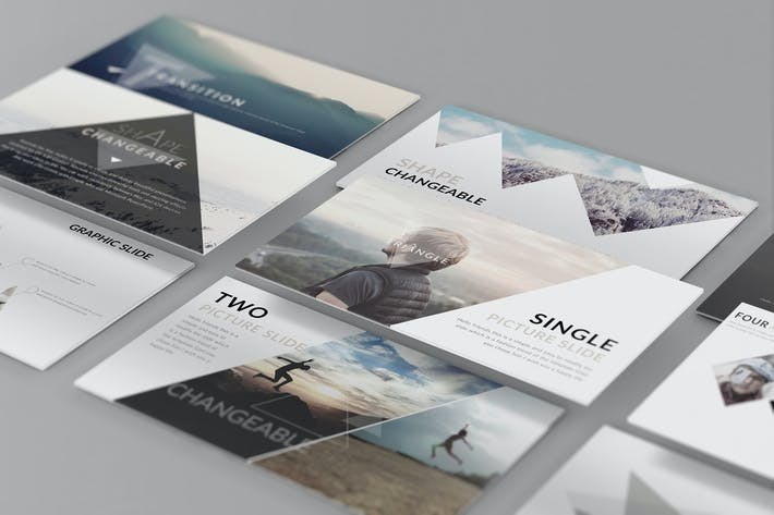 Thumbnail for Perspective presentation Web Mockup 05