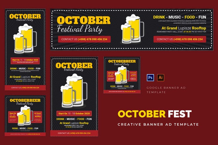 Thumbnail for October Festival Google Ads
