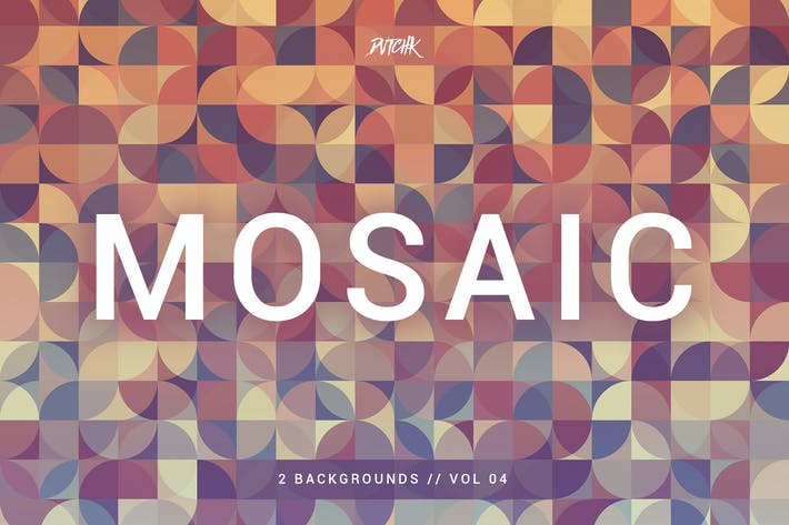 Thumbnail for Mosaic| Abstract Gradient Backgrounds | Vol. 04