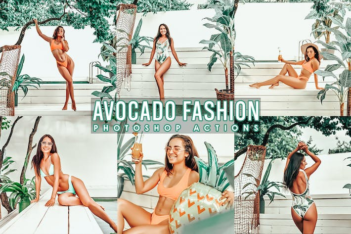 Thumbnail for Avocado  Portrait  Photoshop Actions