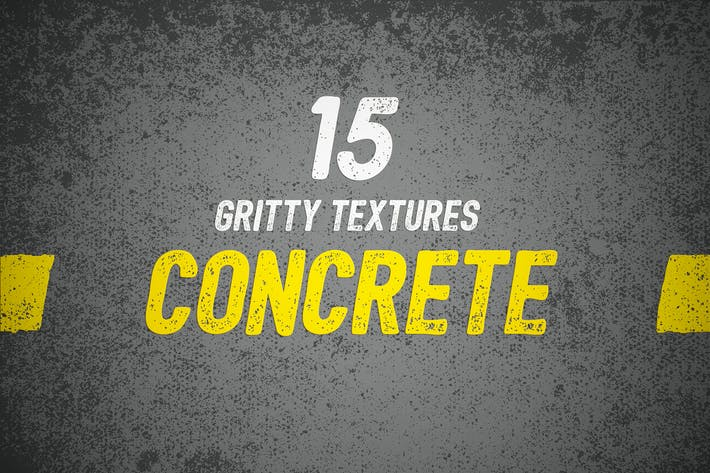 Thumbnail for 15 Gritty Concrete Textures