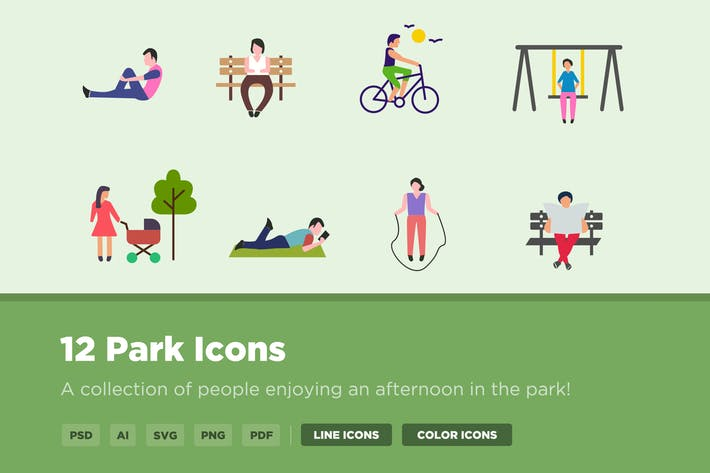 Thumbnail for 12 Park Icons