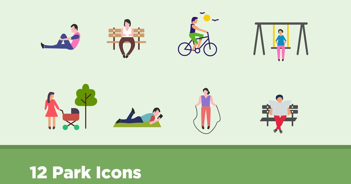 Download 12 Park Icons by creativevip