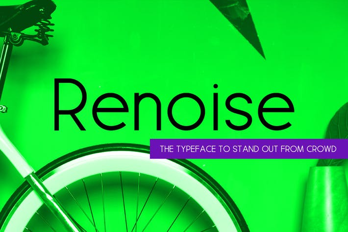 Renoise - Trendy & Stylish New Age Typeface