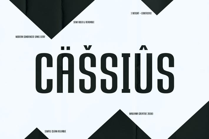 Thumbnail for CASSIUS - Sans Font