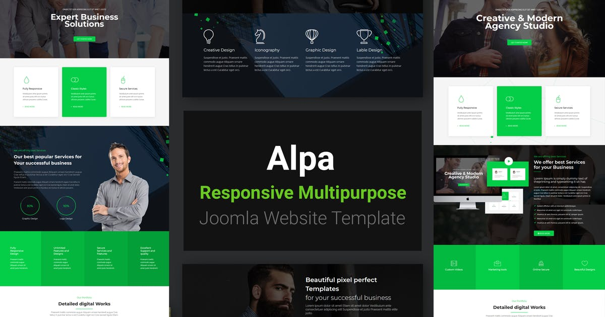 Download Alpa | Responsive Multipurpose Joomla Template by codelayers