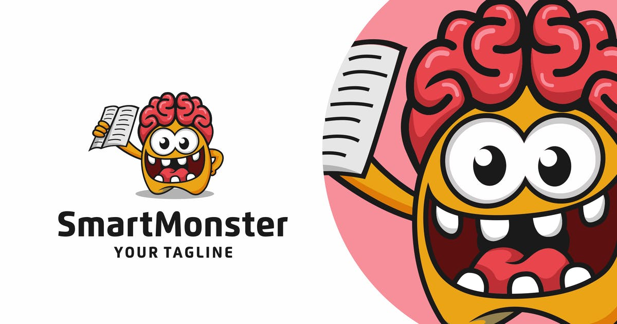 Download Monster Logo Design - [code PW] by GranzCreative