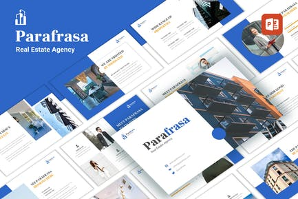 Parafrasa - Real Estate Agency PowerPoint Template