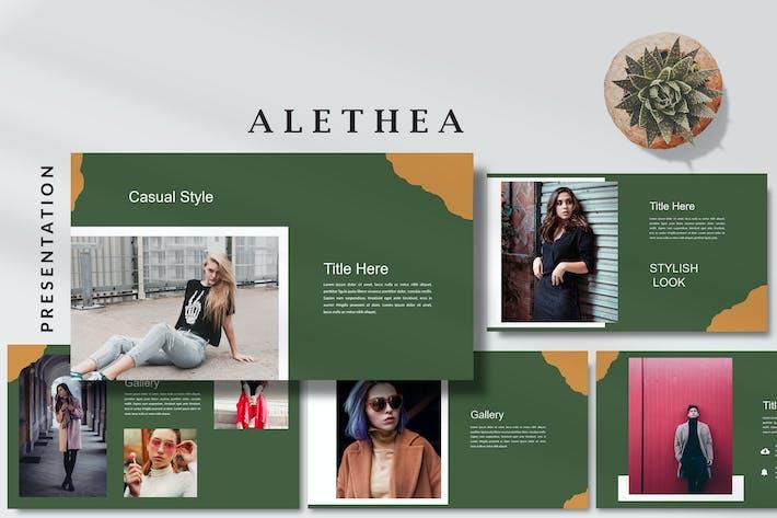 Алетея Модный стиль - Google Слайды