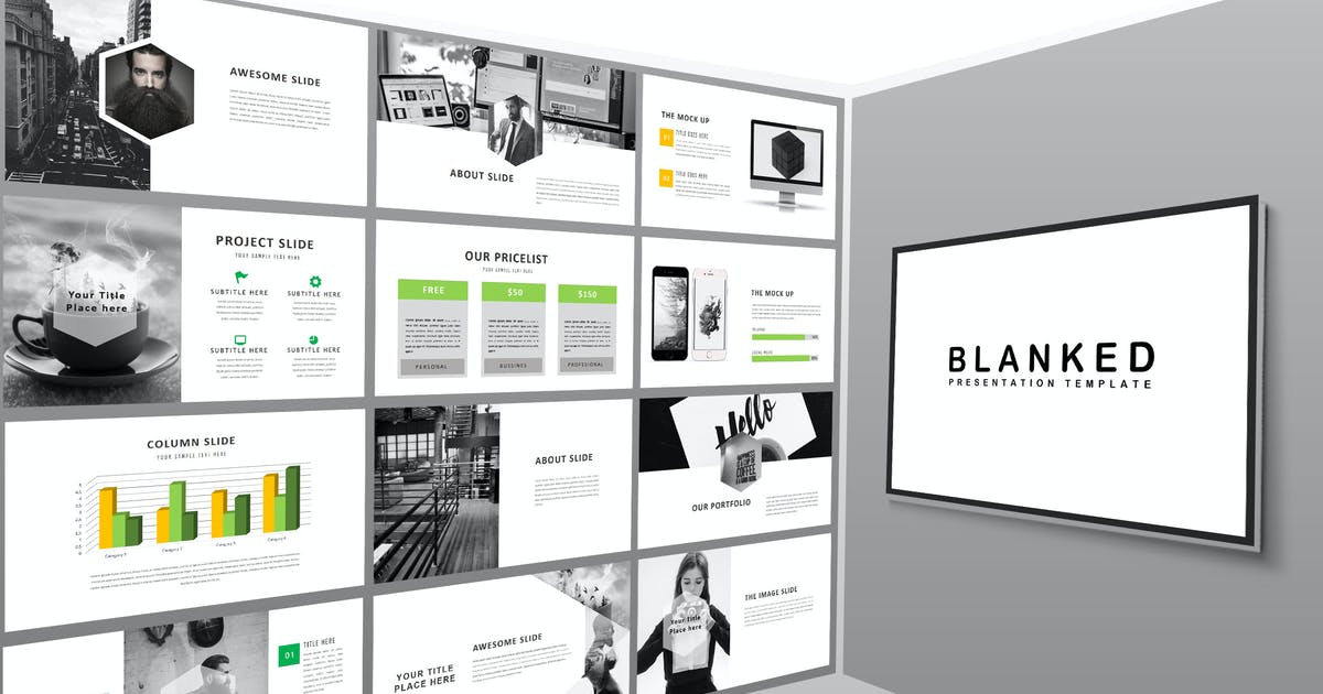 Download Blanked - Powerpoint by putra_khan