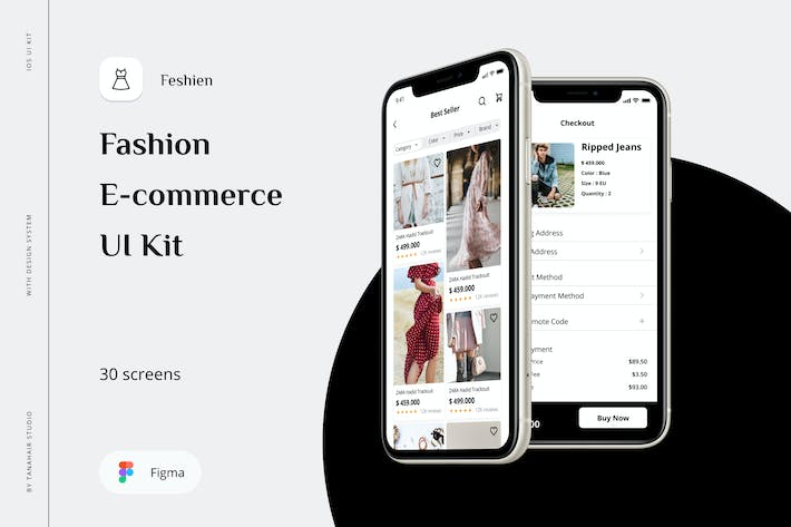 Feshien - Fashion E-commerce UI Kit